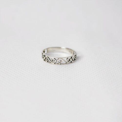 anillo espiral doble