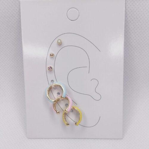 pendientes piercing para la oreja